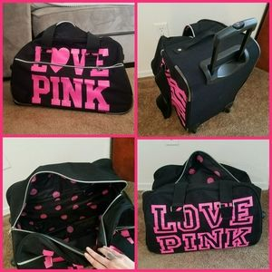 Victoria's Secret VS PINK Rolling Duffle Bag